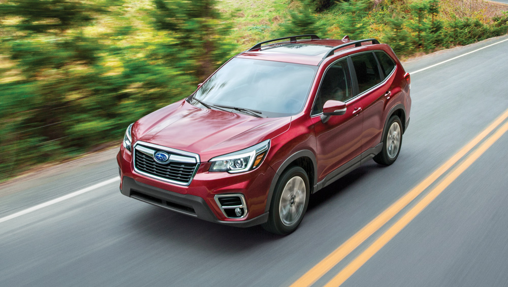 2019 Subaru Forester-Superior agility and ride quality