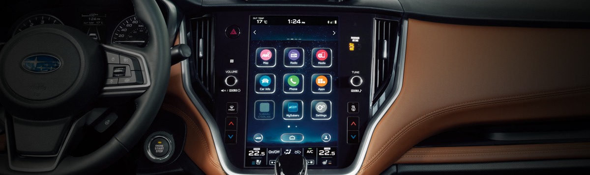 11.6-inch Infotainment System with Available Navigation